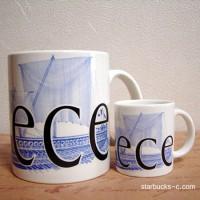 Greece mug, mini mug(ギリシャマグ、ミニマグ)
