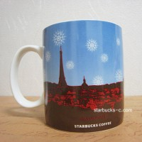 Paris 2009 Holiday mug(パリ2009年ホリデーマグ)
