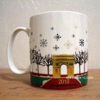 Paris 2010 Holiday mug(パリ2010年ホリデーマグ)
